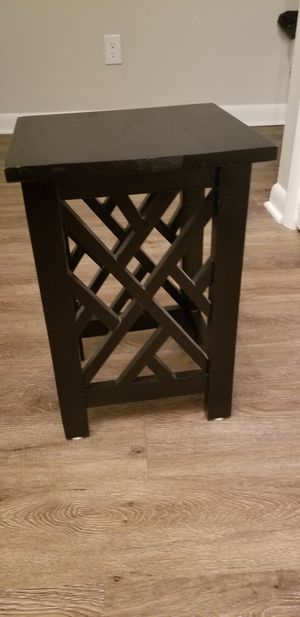 Small black oriental stool for Sale in Raleigh, NC