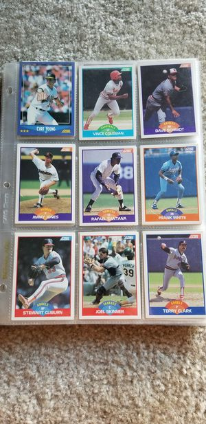 Assorted Score Baseball Cards for Sale in Parkville, MD