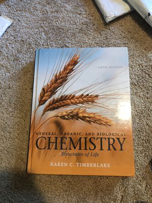 Chemistry textbook 5th edition Mint Condition for Sale in Lutz, FL