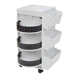 Studio Designs Swivel Organizer, White for Sale in Bothell,  WA