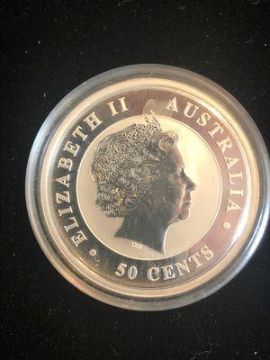 Proof 2012 Australian Koala 1/2 oz .999 silver 50cent for Sale in Rustburg, VA