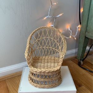 Wicker Doll Chair for Sale in Columbia, MD