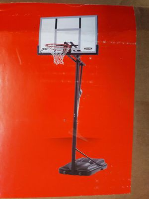 """54"""" basketball system for Sale in Dallas, TX"""