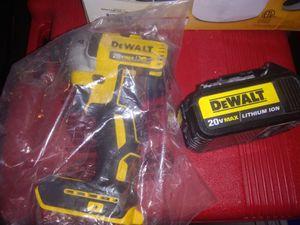 Dewalt 20v Impact driver, Brushless motor for Sale in Las Vegas, NV