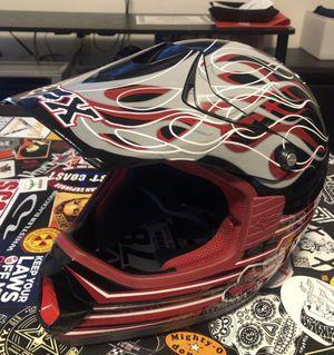 Red/black Fox off-road helmet XXL (63-64cm) for Sale in Seattle, WA