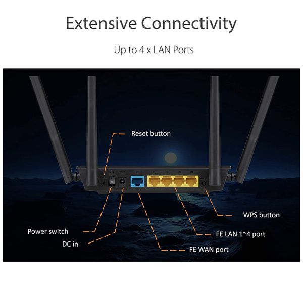 Asus router