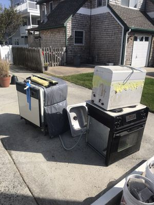 Free scrap oven, air , dishwasher , sink and baseboard heat. for Sale in Beach Haven, NJ