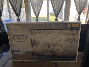 "SAMSUNG UN75NU710DE 75"" 2160p 4K UHD LED Smart TV UN75NU710DEXZA - Open Box Gently Used. for Sale in Staten Island, NY"