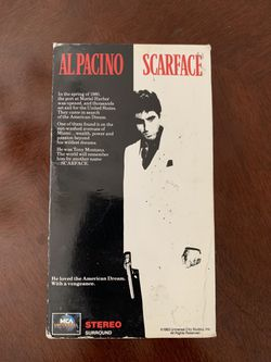 Scarface Box Set VHS Part 1 & 2 for Sale in Elk Grove, CA
