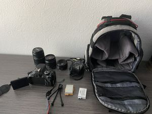 Canon Rebel T3i and Accessories. for Sale in Irving, TX