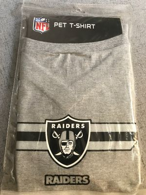 Oakland Raiders XL Pet T-shirt for Sale in Brentwood, CA
