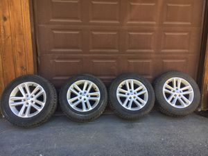 4 Ford Rims w/4 Studded Hankook Winter Tires for Sale in Leavenworth, WA