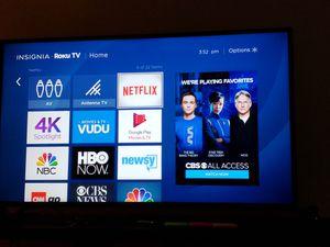 """50"""" Insignia 4k UHD TV LED (Roku) for Sale in Alexandria, VA"""