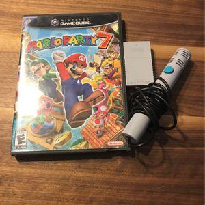 Mario Party 7 Nintendo GameCube W Mic for Sale in Mesa, AZ