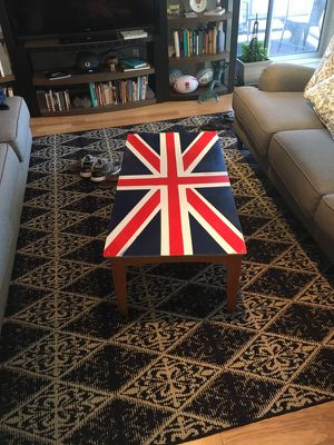 British flag coffee table for Sale in Cleveland, OH