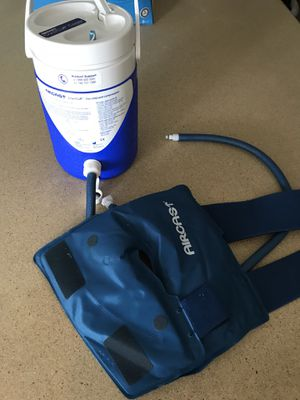 Aircast cryo cuff knee brace. Cold therapy machine cooler. for Sale in Milford, CT