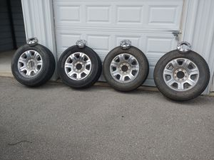 2013 2016 F250 and F350 Rims with centercaps for Sale in Saint Robert, MO