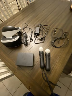 Psvr headset and cables for Sale in Maricopa, AZ