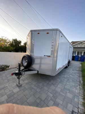 24' enclosed cargo trailer with AC, Electric and Solar for Sale in Los Angeles, CA