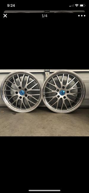 TSW rims 5x120 for Sale in Lake Elsinore, CA