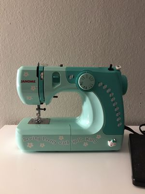 Janome hello kitty sewing machine for Sale in Riverside, CA