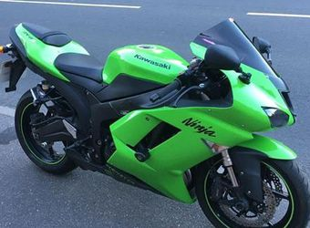 2007 Kawasaki Zx6r Ninja for Sale in Long Beach,  CA