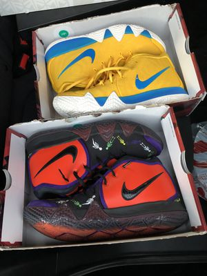 Nike kyrie size 10.5 both for 130 read info for Sale in Richmond, CA