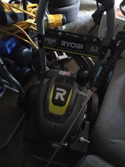Pressure washer and almost like new condition been used a few times the Ryobi and it has 2900 PSI and all the bells and whistles as far as attachments for Sale in Nashville,  TN