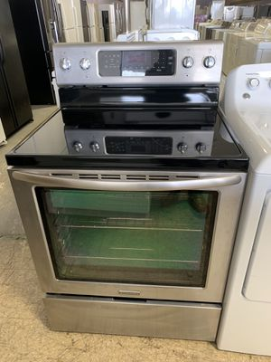 """30"""" KITCHEN AID GLASS TOP STOVE STAINLESS STEEL WITH WARRANTY for Sale in Woodbridge, VA"""