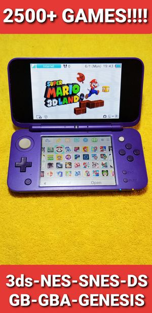 New Nintendo 2ds XL with 2500+ GAMES!!!! for Sale in Chula Vista, CA