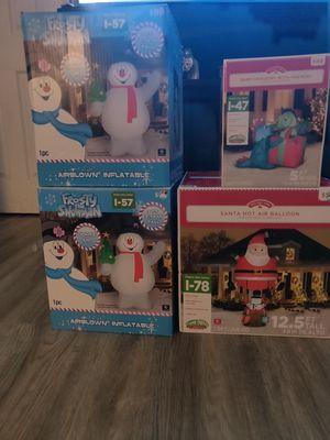 🎄⛄NEW!!! XMAS INFLATABLES!!🎅🦌 for Sale in Fontana, CA