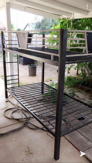 Bunk beds twin frame for Sale in Phoenix, AZ