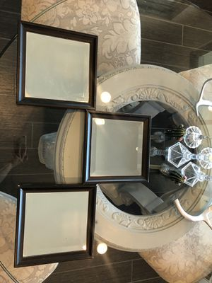 3 square mirrors for Sale in Peoria, AZ