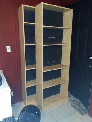 2 Large Bookshelves for Sale in Sanford, FL