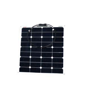 Wholesale Lots ALEKO SP50W12VFLEX 50 Watt 12 Volt Monocrystalline Semi Flexible Solar Panel for Gate Opener Pool Garden Driveway for Sale in Kent, WA