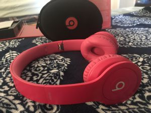 Beats by Dre (hot pink) solo for Sale in Murfreesboro, TN