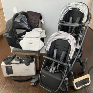 Uppababy Vista Stroller With Accessories for Sale in Orange, CA