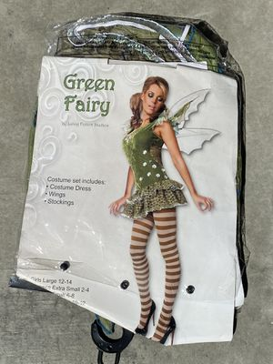 Halloween Fairy Costume, Girls Size Large or Junior X-Small for Sale in Chula Vista, CA