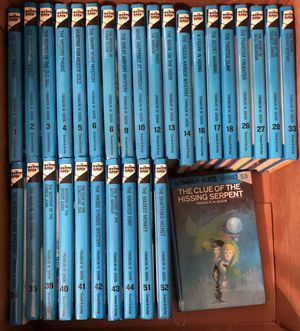 Lot of hardcover Hardy Boys books for Sale in Dallas, TX