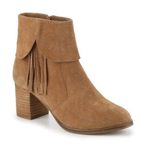 Matisse | 'Paulson' Tan Fringe Suede Ankle Boots- SZ 9.5 for Sale in Las Vegas, NV