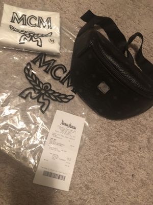 Mcm Stark Small Visetos Belt Bag/Fanny Pack for Sale in Frederick, MD