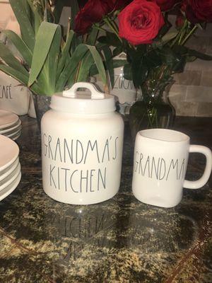 Rae Dunn Grandma's Kitchen Set - Adorable! for Sale in Sanger, CA