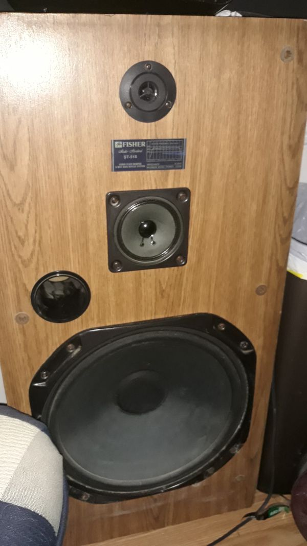 Vintage 15in Fisher house speakers