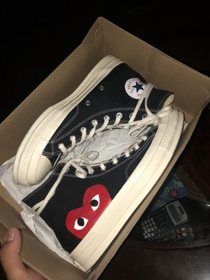 GREAT COND CDG CONVERSE SZ 9 for Sale in Bronx, NY