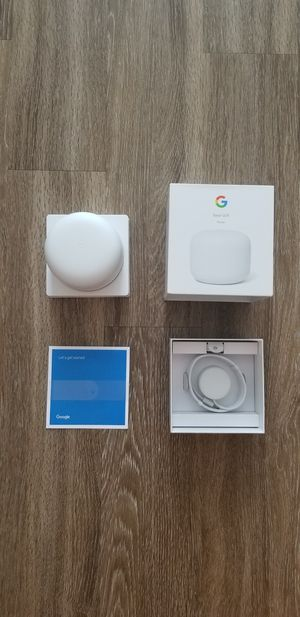 Google Nest Wifi Router for Sale in Plano, TX