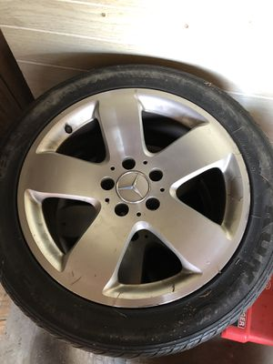 17x8 Inch, 5x112mm Wheels Rims Tires for Sale in Park Ridge, IL
