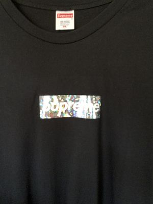 Supreme Holographic Box Logo Tee for Sale in Garden Grove, CA