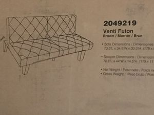 Venti futon for Sale in WILOUGHBY HLS, OH