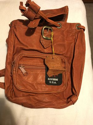 Cute leather backpack for Sale in Riverside, CA