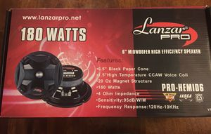 Lanzar pro 6.5 speakers car audio for Sale in Orlando, FL